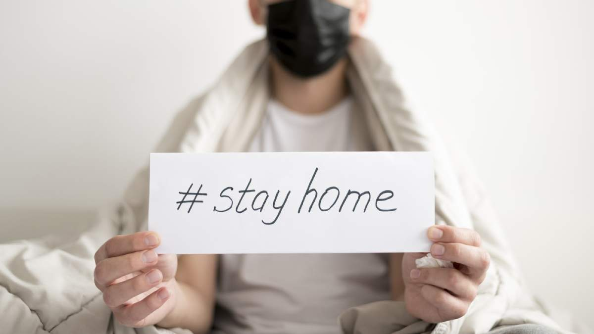 Stay Home - koronawirus