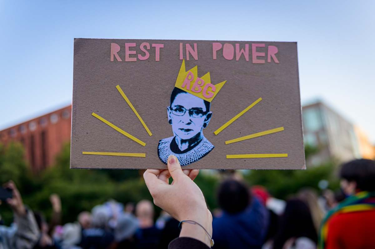 Rest in Power - RBG