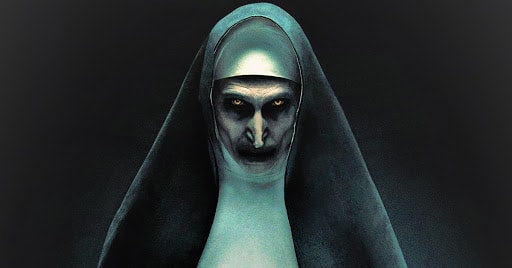 The Nun - Ambient marketing
